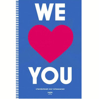 We love you – friendship book