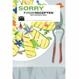 Uitgeverij Snor Sorry Uitsloof recepten
