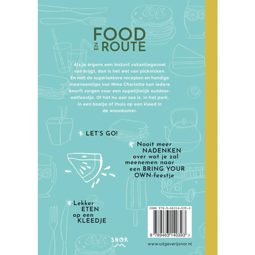 Uitgeverij Snor Food en Route – Dutch Book
