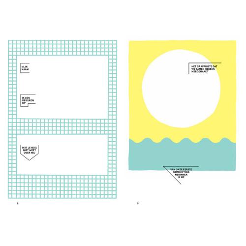 Uitgeverij Snor We love you – vriendenboek voor volwassenen