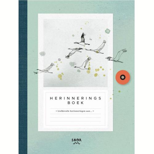 Uitgeverij Snor Herinneringsboek – Dutch Book