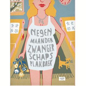 Uitgeverij Snor Negen maanden zwangerschaps plakboek