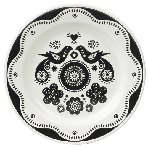 Folklore plate pink