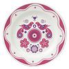Gentlemen's hardware Folklore plate pink