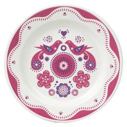 Nina Jarema Folklore plate pink