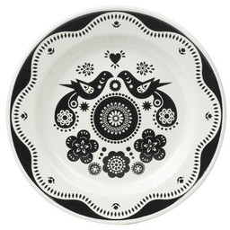 Gentlemen's hardware Folklore plate black