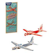 Ridley's set houten vliegtuigjes Racing Gliders