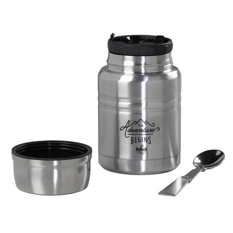 Gentlemen's hardware Food flask & spoon nr 96
