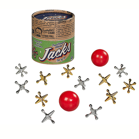 Ridley's Traditionele Metalen Jacks Ridley's