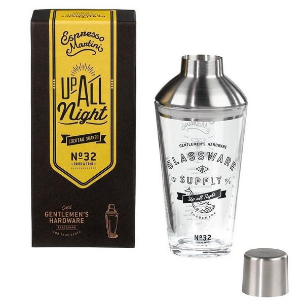 Gentlemen's hardware Espresso Martini cocktail shaker nr. 32 Gentlemen's hardware