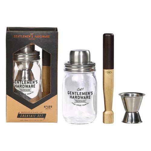 Gentlemen's hardware Cocktail set no. 189 gentlemen's hardware
