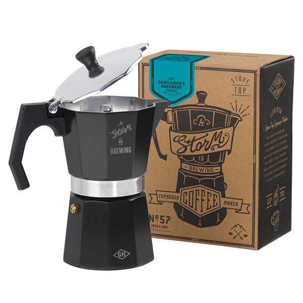 Gentlemen's hardware Koffie Percolator no 57