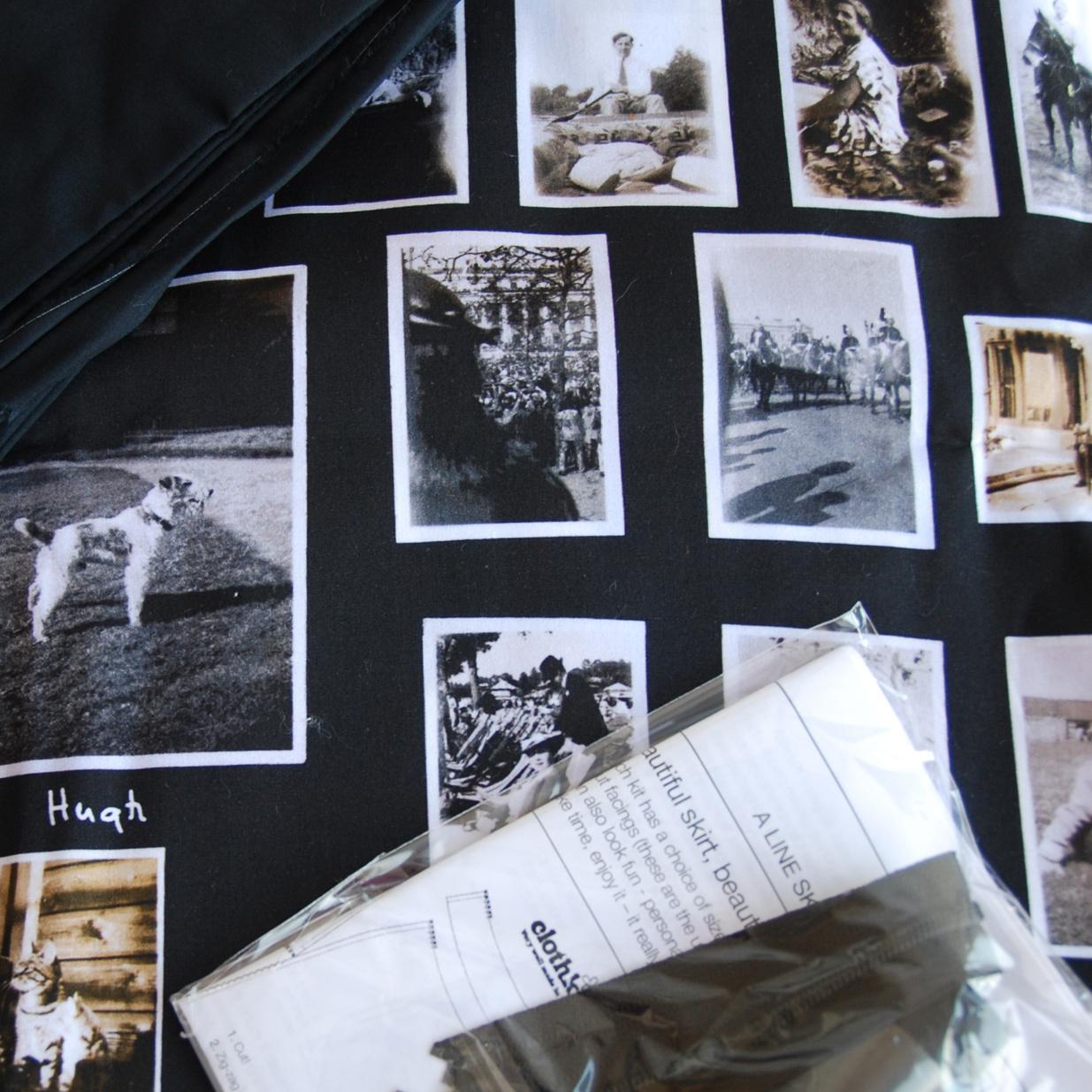 Clothkits DIY skirt Photo Print (36-48)