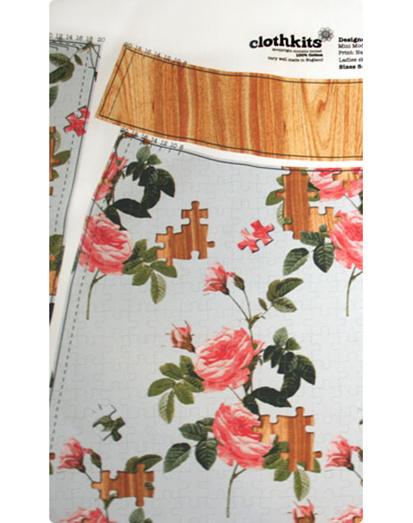 Clothkits DIY skirt Nana puzzle