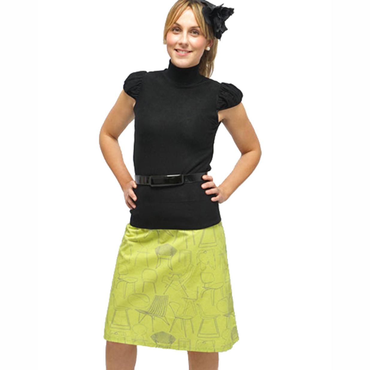 Clothkits DIY skirt Sitting Comfortably