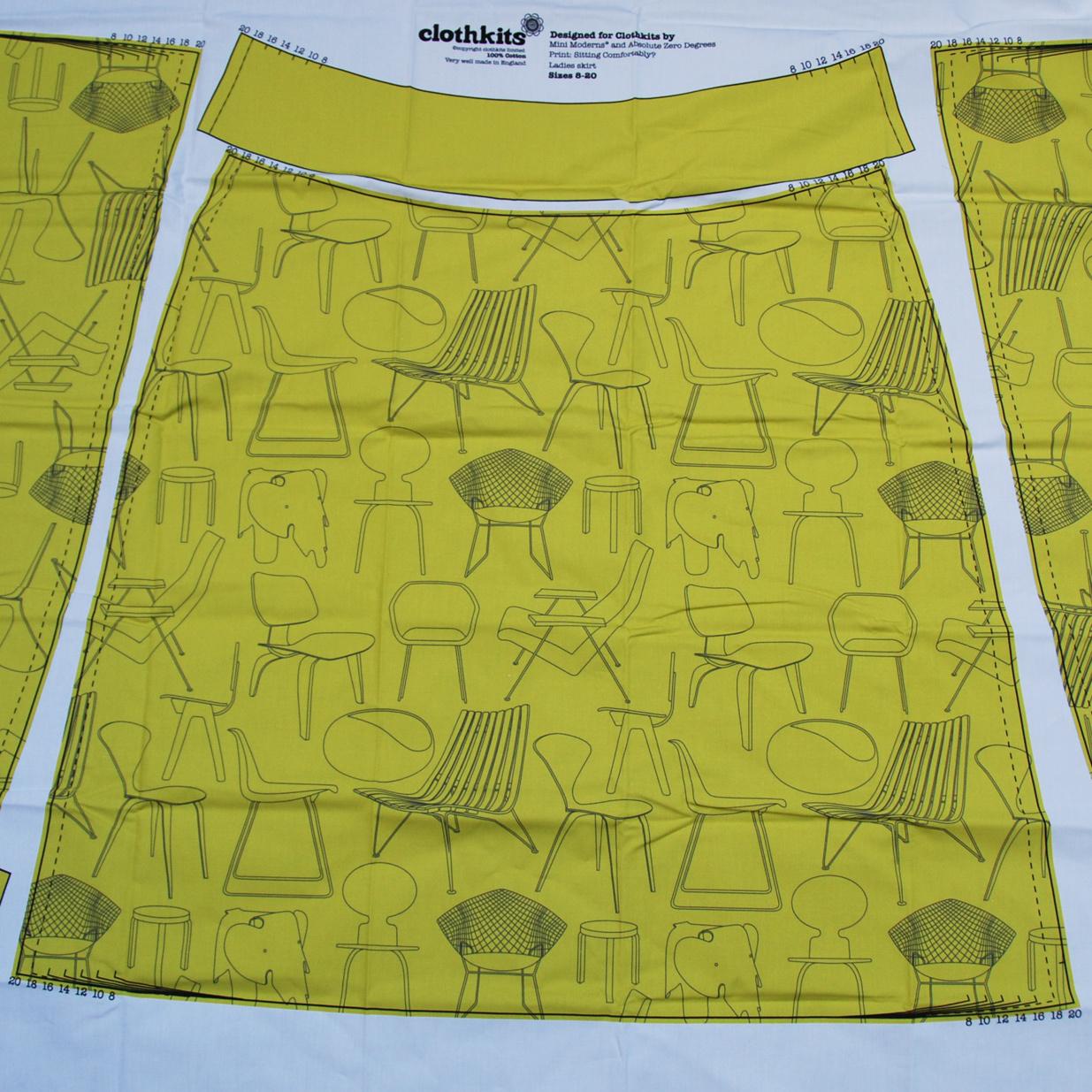 Clothkits DIY Rok Sitting Comfortably