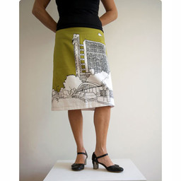 Clothkits DIY skirt Trellick