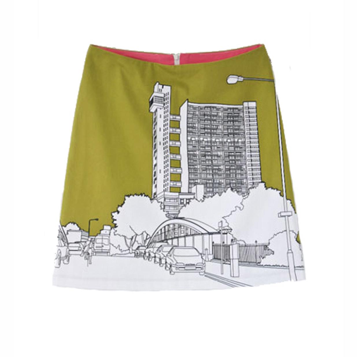 Clothkits DIY skirt Trellick
