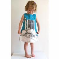 DIY jurk Trellick 1- 9 jaar