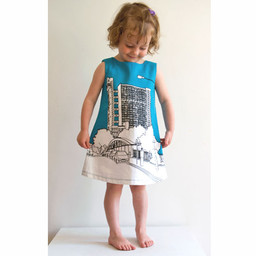Clothkits DIY jurk Trellick 1- 9 jaar