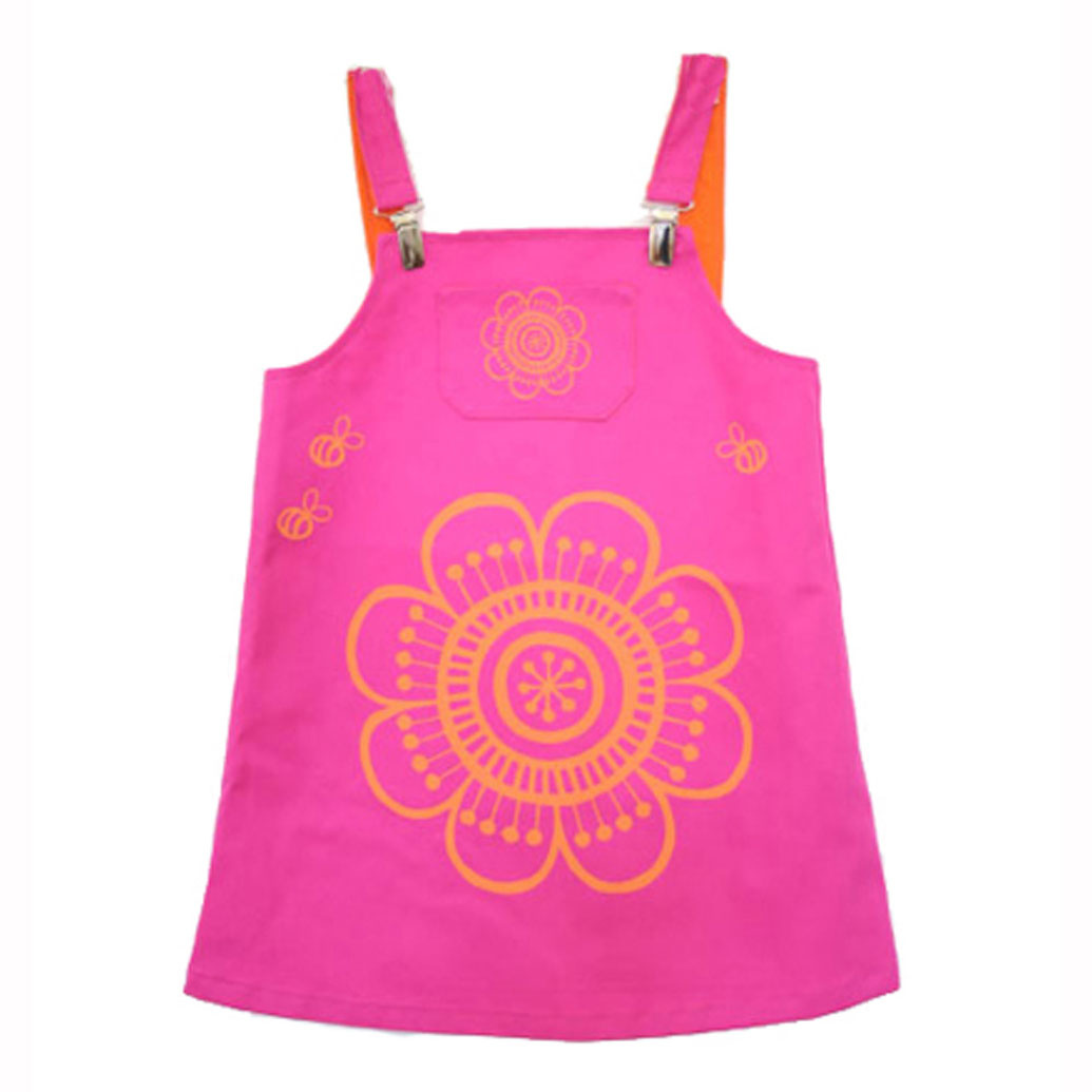 Clothkits DIY  jurk Happy Bees 1-2 jaar
