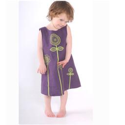Clothkits DIY dress Peekaboo Sunflower 1-6 jaar