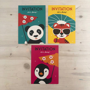Mingface Invitation card