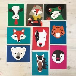 Mingface Animal card Mingface