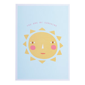Donna Wilson you are my sunshine card