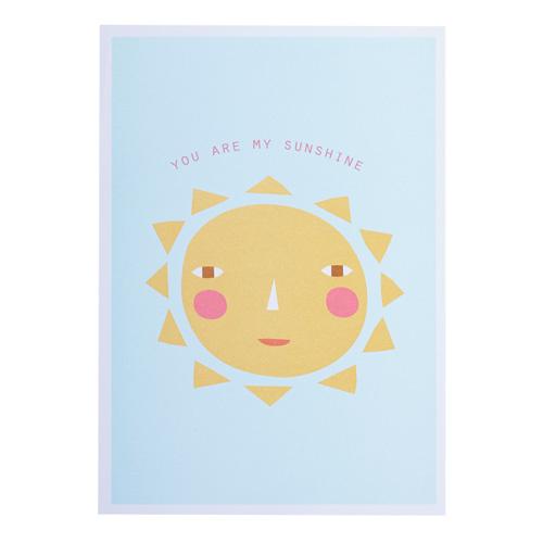 Donna Wilson you are my sunshine kaart