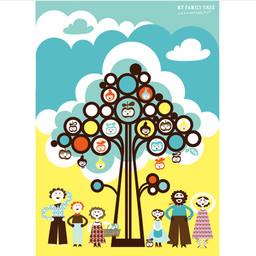 Isak Poster familie boom
