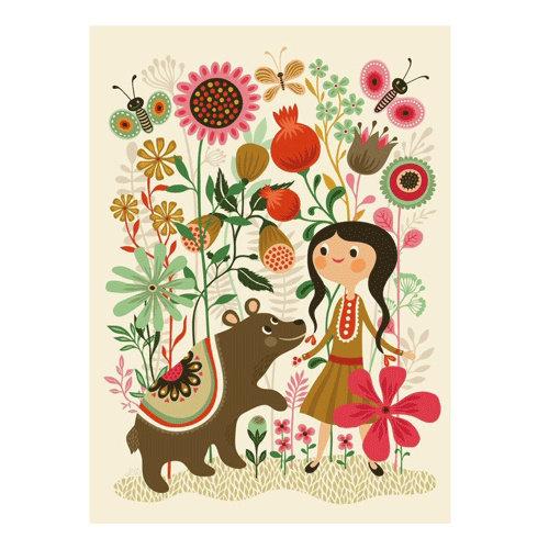 Petit Monkey Print Wild Dream Bear