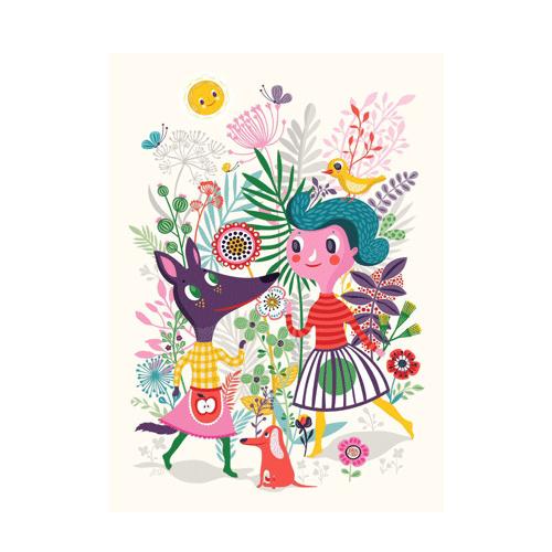 Petit Monkey Poster Sweet