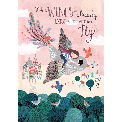 Petit Monkey Poster Your wings