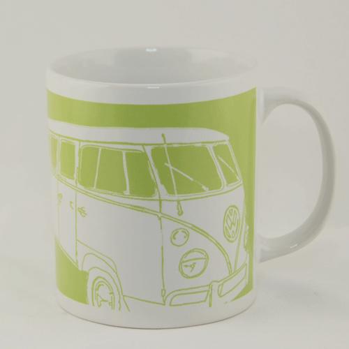 Pearl Earl Mug VW Camper Van