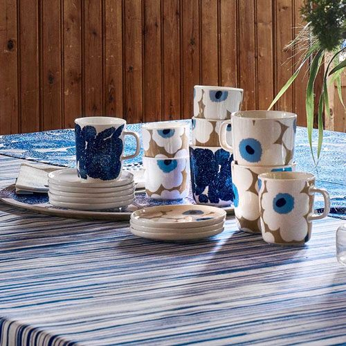 MARIMEKKO Set 2 koffie kopjes Unikko 2 dl
