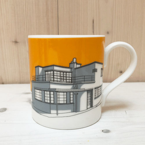 People Always Need Plates Mug 1930 modernist seaside villas