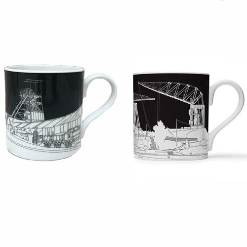 People Always Need Plates Mug Coal Mine & Shipyard
