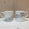 People Always Need Plates Mug London Traffic
