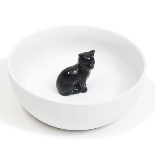 Hollandsche Waaren Schaal Zwarte Kat