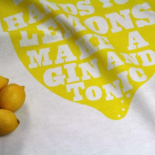 Theedoek Lemons