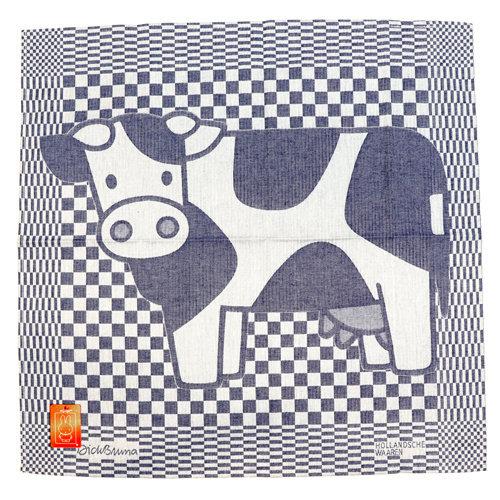 Hollandsche Waaren Tea towel Cow