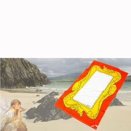 Splash Beach towel Mona Lisa