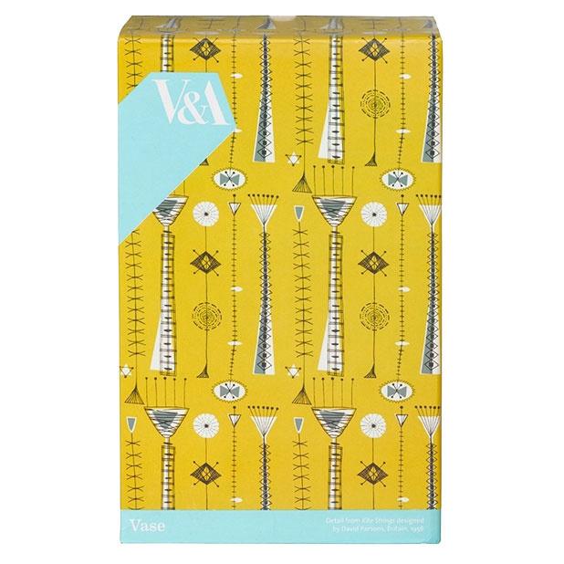 David Parsons Vase V & A Kite Strings