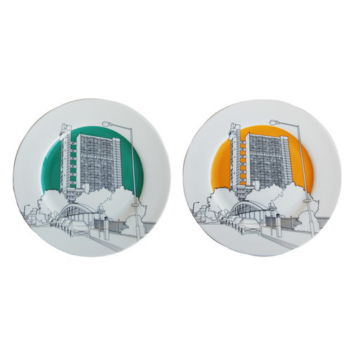 Plate Trellick limited edition