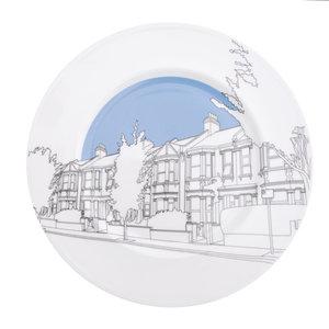 Plate Kensal Green