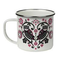 Enamel Folklore mugs
