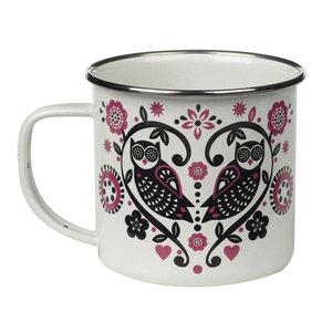 Wild & Wolf Enamel Folklore mugs