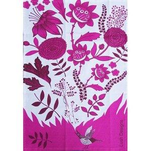 lush designs Theedoek Birdsong