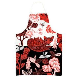 lush designs Keukenschort Vos met welp